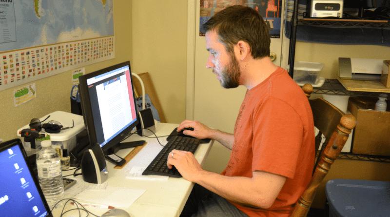 tim working on lucas game