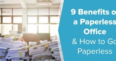 The Benefits of Companies Breaking Without Paper