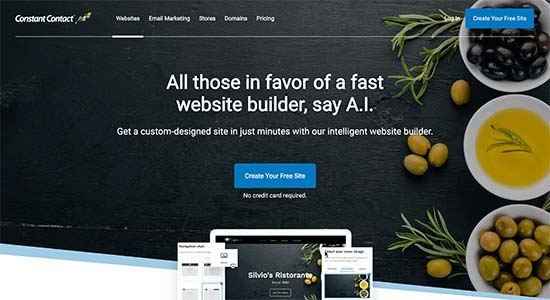 CCWebsitebuilder - GoDaddy Alternatives